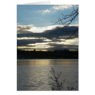 12/24 Afternoon Greeting Card