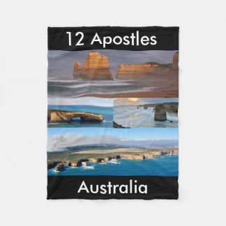 12 Apostles Australia Fleece Blanket, Small