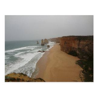 12 Apostles Great Ocean Road Victoria Australia Postcard
