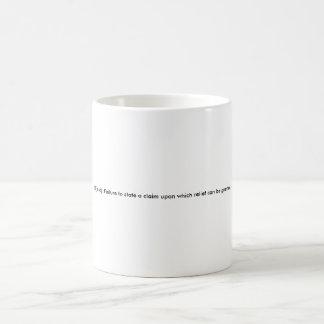 12(b)(6) Mug (Small Text)
