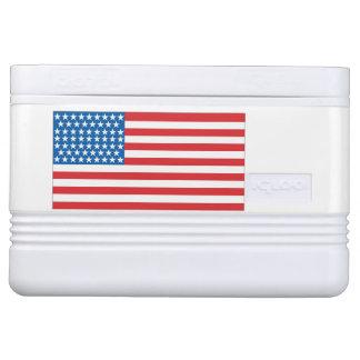 12 can cooler American Flag Design Front & Back