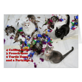 12 Days of Christmas Greeting Card