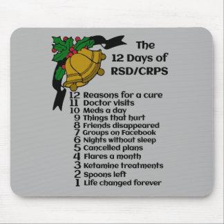 12 Days of Christmas...RSD/CRPS Mouse Pad
