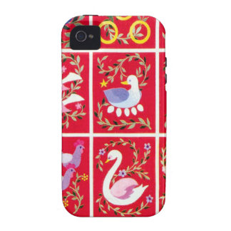 12 Days of Christmas, - traditional Xmas carol iPhone 4/4S Cases
