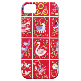 12 Days of Christmas, - traditional Xmas carol iPhone 5 Cases