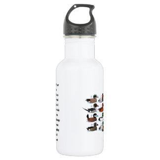 12 Ducks with Key 532 Ml Water Bottle