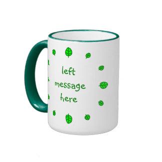 12 leaves coffee mugs
