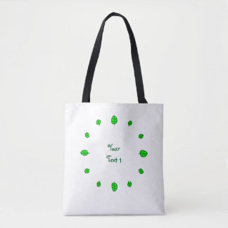 12 leaves tote bag