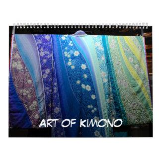 12 month Art of Kimono Calendars