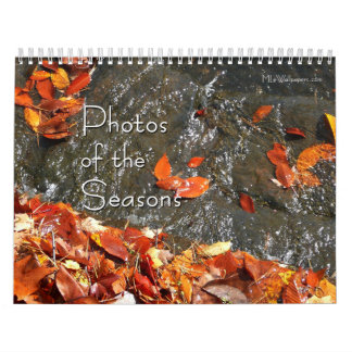 12 Months of Photos of the Seasons, 8th Edition Wall Calendar