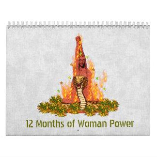 12 Months of Woman Power Wall Calendars