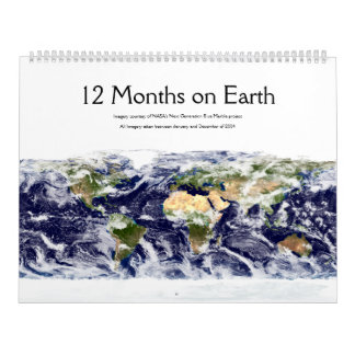 12 Months on Earth Calendars