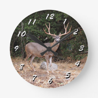12 Number Choices to Choose --Wild Deer Clock