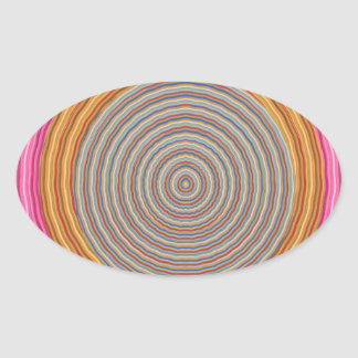 12  PURE Energy Vibes Aura Cleaning Spectrum Oval Sticker