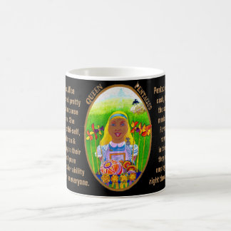 12. Queen of Pentacles - Alice tarot Coffee Mug