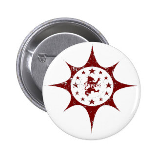 12 Star Pinback Buttons