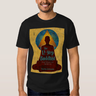12-Step Buddhist Full Book Cover Tee Shirt