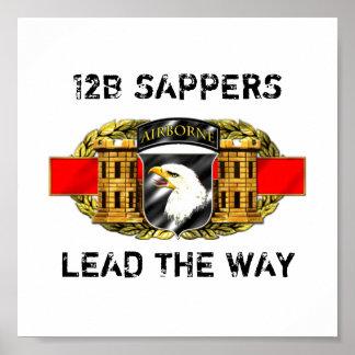 12B 101st Airborne Division Poster