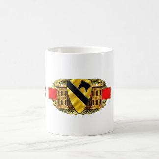 12B 1st Cavalry Division Basic White Mug