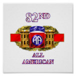12B 82nd Airborne Division Posters