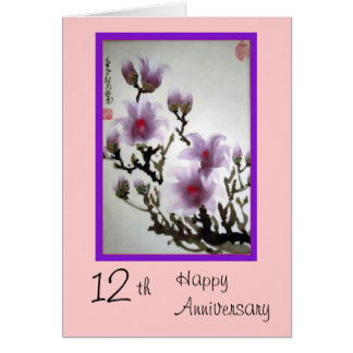 12th Anniversary Gifts - T-Shirts, Art, Posters & Other Gift Ideas ...