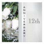 12th Anniversary Invitation