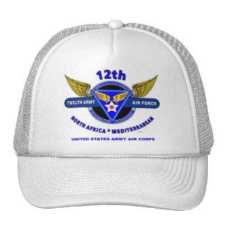 12th Army Air Force World War II Trucker Cap Trucker Hats