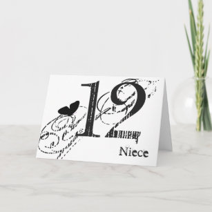butterfly birthday cards zazzle au 66th Birthday Party 12th birthday for a niece black butterfly text card