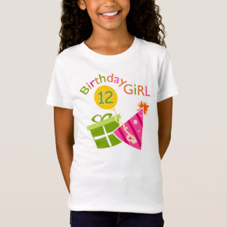 12th Birthday Girl T-Shirt