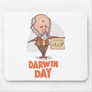 12th February - Darwin Day - Appreciation Day Mouse Pad