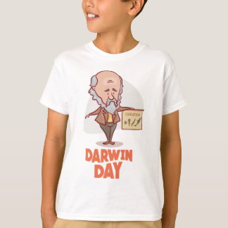 12th February - Darwin Day - Appreciation Day T-Shirt