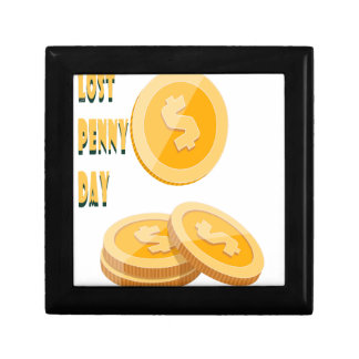 12th February - Lost Penny Day - Appreciation Day Gift Box
