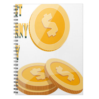 12th February - Lost Penny Day - Appreciation Day Spiral Notebook