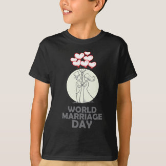 12th February - World Marriage Day T-Shirt