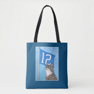 12th Flag (blue) Tote Bag