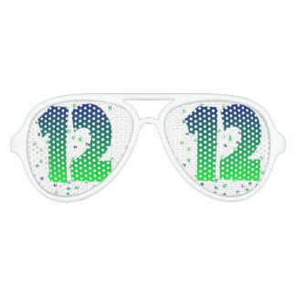 12th man Seahawks sunglasses