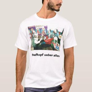 130332-Local_Customs-Munich, Schafkopf ueber alles T-Shirt