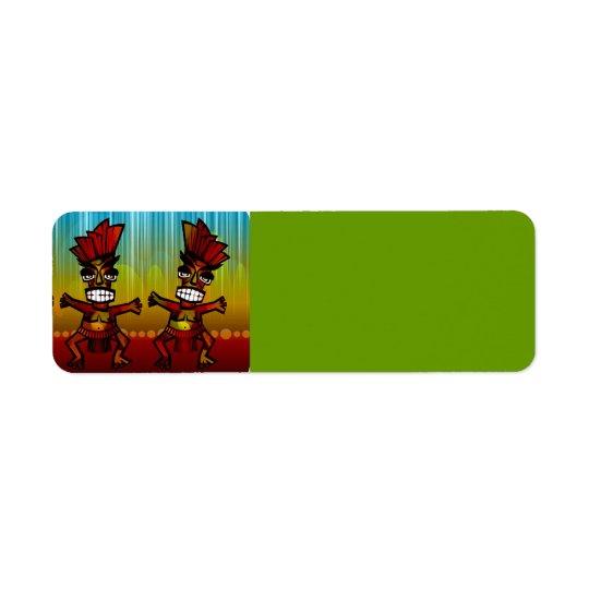 1312743176_Vector_Clipart Hawaiian Tiki men Return Address Label