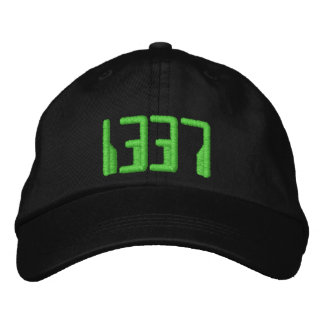 1337 EMBROIDERED HATS