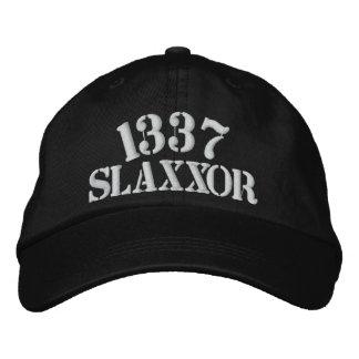 1337, SLAXXOR HAT EMBROIDERED BASEBALL CAPS
