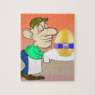 133Waiter_rasterized Jigsaw Puzzle
