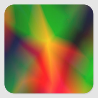 134Abstract Background_rasterized Square Sticker