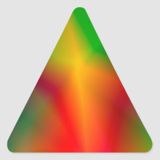 134Abstract Background_rasterized Triangle Sticker