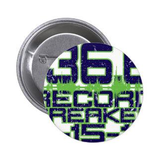 136.6 Record Breaker 6 Cm Round Badge