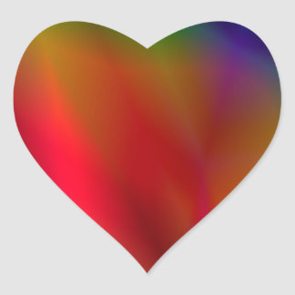 138Abstract Background_rasterized Heart Sticker