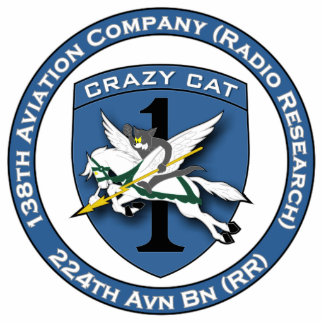 138th Avn Co - Crazy Cat Cut Outs
