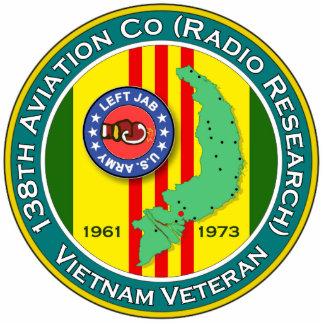 138th Avn - Left Jab 2 - ASA Vietnam Photo Sculptures