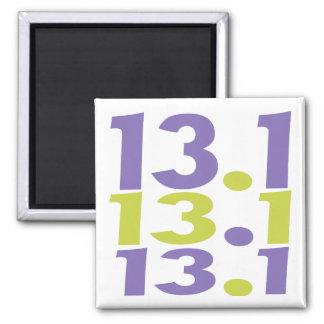13.1 half marathon fridge magnets