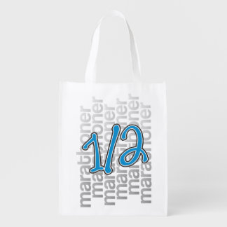 13.1 Half Marathon Pattern Shopping Bag - Running