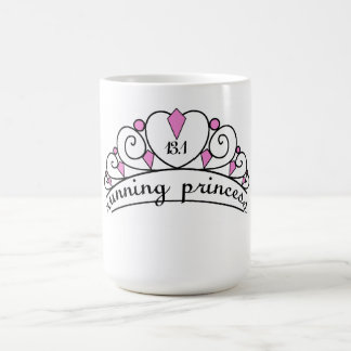 13.1 Running Princess (pink) Coffee Mug